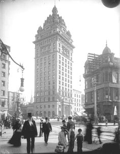 Call Building - 3rd and Market St. San Francisco, CA 1905