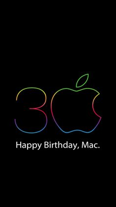 Apple Mac 30th Anniversary poster (official?)