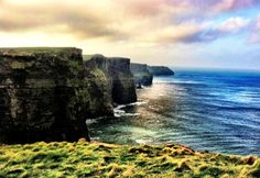 The Cliffs of Moher, one of the 7 wonders of nature. Seeing 700ft of limestone cliffs live is absolutely breathtaking.