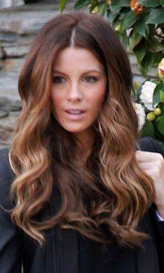 Like this ombre color