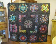 The Pieceful Patch: Ceryle's Celtic quilt