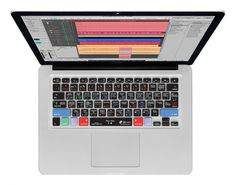 "KB Covers Logic Pro X QWERTY Copritastiera MacBook Air 13""/Pro Trasparente: Amazon.it: Elettronica"