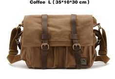 2017 Canvas Leather Messenger Bags Men Vintage Military Army Crossbody Bags School Laptop Shoulder Bags Casual Travel Bags Male