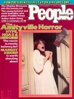 People magazine, Sept 17, 1979 — Margot Kidder in The Amityville Horror