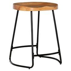 Oak Kitchen Breakfast Bar StoolsSolid Wood StoolDining Seat