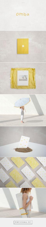 OMBA (Urban Beach Parasols) on Behance | Fivestar Branding – Design and Branding Agency & Inspiration Gallery
