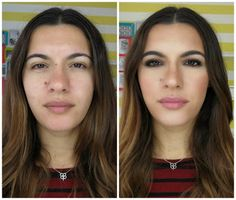 Make up by Rita Lopes: Antes e Depois: Look dia-a-dia