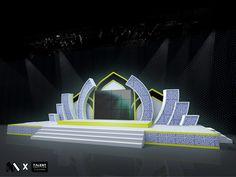 Stage design for Maolid Fair @ Krabi