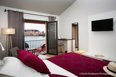 Chambre deluxe balcon - Hôtel le Relais des Trois Mas - Collioure - www.pyrenees.fr