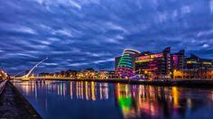 Dublin at Night by daniel mcavera on 500px