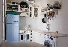 haleigh's charming parisian kitchen #kitchendesign #paris #smallspaces