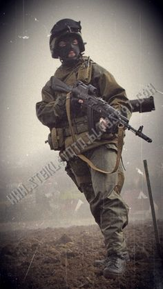 A similar loadout: - K6-3 Helmet Replica - Bars...