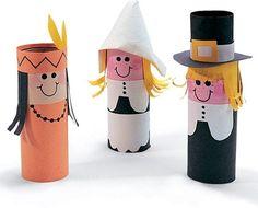 Creative Thanksgiving Day Crafts for Children  #lifestyletips #ThanksgivingDay