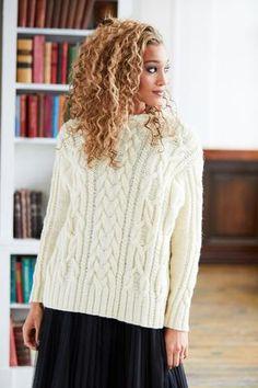 Sweater Knitting Patterns, Lace Knitting, Knit Patterns, Vintage Patterns, Knit Crochet, Jumper Patterns, Knitting Ideas, Stitch Patterns, Big Yarn
