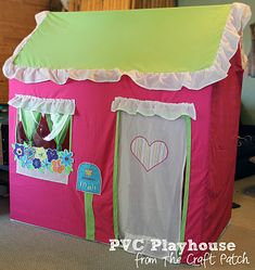 The Craft Patch: Kid Stuff PVC Play House