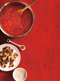 Recette de Ricardo de sauce tomate de base
