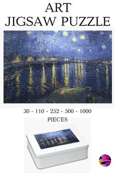Van Gogh Jigsaw Puzzle 30 - 1000 pieces. Shop only at #redbubble store from $29.15. This holiday season you can have a fun activity with your family and friends. Order by Dec. 10 to get weirdly meaningful gifts by Dec. 25. #familyactivity #familygift #VanGogh #starrynight #funactivities #lockdown #indoorgames #puzzle #jigsawpuzzle #puzzles #jigsaw #jigsawpuzzles #games #art #artist #painter #artlover #gift #findyourthing @redbubble