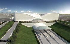 Santiago Calatrava.Denver International Airport (DIA).
