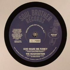 The artwork for the vinyl release of: The Headhunters - God Make Me Funky (Record Store Day 2017) (Soul Brother) #music SoulJazz