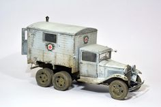 Used #MiniArt's Kit:  35183 GAZ-AAA w/Shelter http://miniart-models.com/35183/ Modeller: Miroslav Belovič Source: https://www.facebook.com/miro.belovic/posts/10214126227217946?pnref=story