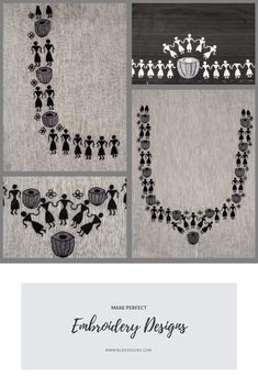 Embroidery Patterns Geometric that Embroidery Designs Neck, Simple Embroidery Designs In Churidar those Embroidery Patterns Flowers Embroidery On Kurtis, Kurti Embroidery Design, Hand Work Embroidery, Embroidery Tattoo, Simple Embroidery Designs, Applique Designs, Machine Embroidery Designs, Embroidery Patterns, Saree Painting