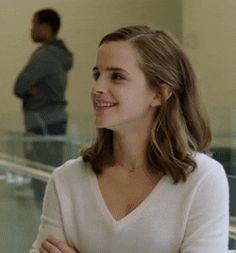 Emma in white.