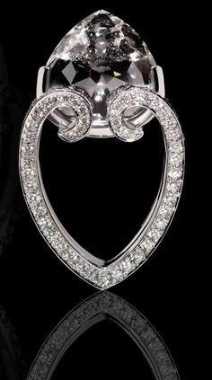SCAVIA   Diamond Heart Ring   {ʝυℓιє'ѕ đιåмσиđѕ&ρєåɾℓѕ}