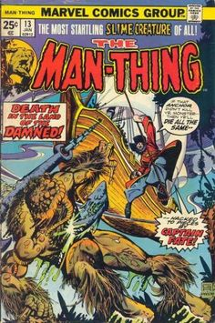 Man-Thing #13 - Red Sails at 40,000 Feet! (Issue)