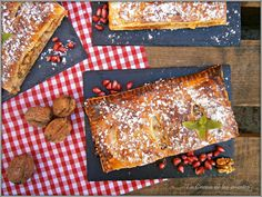 La Cocina de los inventos: Pastel rápido de Hojaldre con Membrillo, Queso y Nueces de California
