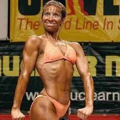How do we feel about female body building? More so...how do we feel about THIS particular female body builder?? Sorry i couldnt help but laugh & share when i came across this...lol