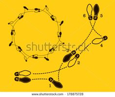 A Eb D Dcc A D Foot Chart Photo Illustration on Waltz Dance Steps Diagram
