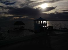 La noche en Río Lagartos, Yucatán