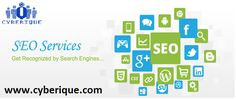 #SEO #Services -  Our Search Engine Optimization services will help your website rank higher and your business grow. See more.. http://www.cyberique.com/seo-service.php