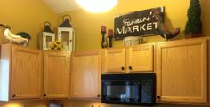 Kitchen re-do.  Country Girl | City Girl is a Country Girl at Heart!
