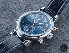 "HANDS-ON WITH THE IWC DA VINCI CHRONOGRAPH EDITION ""LAUREUS SPORT FOR GOOD FOUNDATION"""