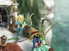 Zidane and Vivi - Final Fantasy IX