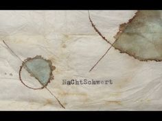 HOW TO USE WATERCOLORS ON A TEA BAG --/ Anne Eichhorn --/ freiland -- po...