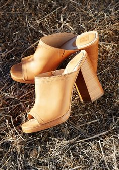 Karissa Mule | The Frye Company. Like this style? Check out more fabulous style inspirations and shops recommendations at http://evanescentescape.com