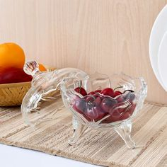 Roxx Lily Candy Bowl,Serving & Platters