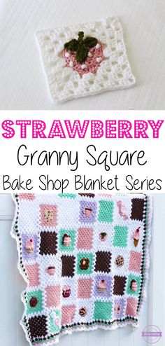 Got a sweet tooth? Indulge yourself with this crochet blanket