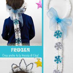 Come si fa la parrucca di Elsa Frozen Elsa, Anna Frozen, Activities For Kids, Masks, Party, Costumes, Dress Up, Ana Frozen, Children Activities