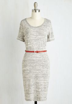Venue Vixen Dress. Saunter into this evenings concert flaunting your indie style, bedecked in this darling, lightweight knit frock! #grey #modcloth