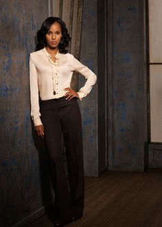 chic femme fatale outfit  olivia pope always looks classy