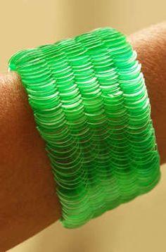 PET Bottle Jewelry : Mana Bernandes' Eco Designs