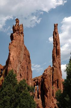Garden of the Gods, Colorado Springs Colorado. My family and I used to visit the Garden of the Gods every time we visited Colorado.