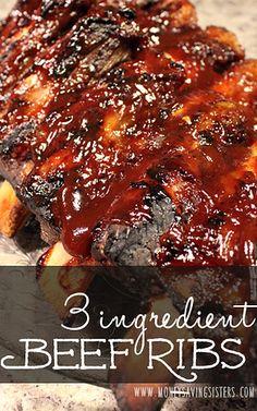 Better-than-Pork-Ribs Beef Ribs Recipe Better-th.- Better-than-Pork-Ribs Beef Ribs Recipe Better-than-Pork-Ribs Beef Ribs Recipe Beef Ribs In Oven, Boneless Beef Short Ribs, Beef Back Ribs, Pork Ribs, Pulled Pork, Recipe For Beef Ribs, Crockpot Beef Ribs, Pork Short Ribs Recipe Oven, Recipes