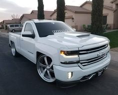 Holy Cow This car is my most desired whip. So trendy Pink Chevy Trucks, Custom Chevy Trucks, Chevy Pickup Trucks, Old Ford Trucks, Gm Trucks, Chevy Pickups, Chevrolet Silverado, Silverado Truck, Chevrolet Trucks