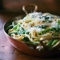 Asparagus-Goat Cheese Pasta Recipe