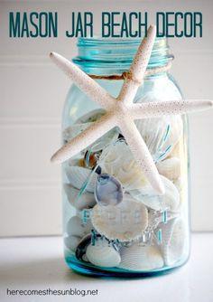 mason jar beach decor final