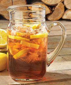 This Country Folk Drinking Jar Pitcher by Libbey is perfect! #zulilyfinds